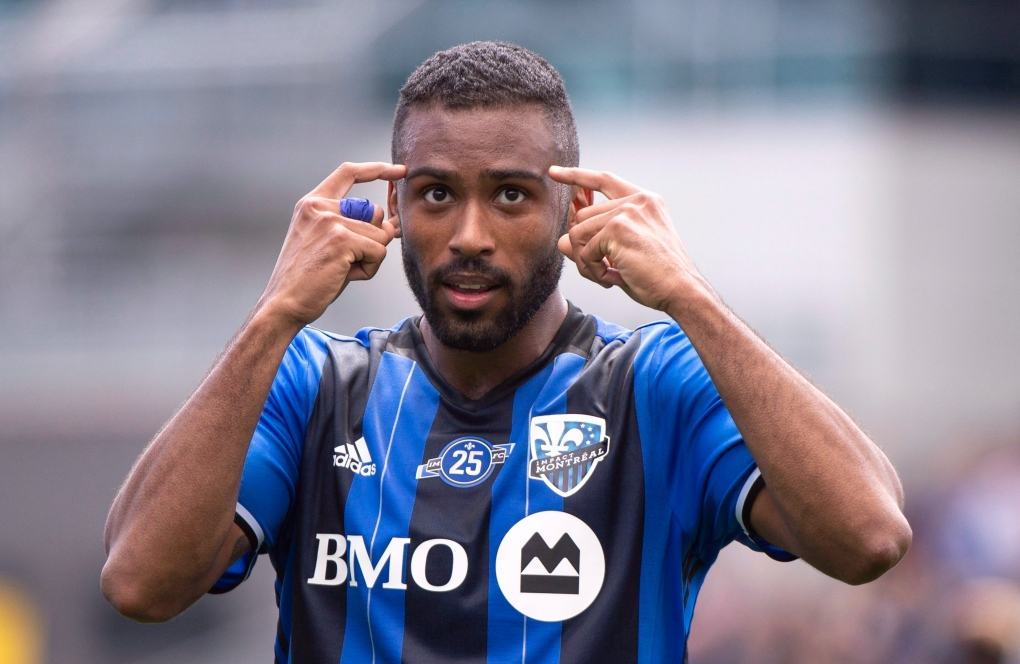Montreal Impact forward Anthony Jackson-Hamel