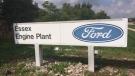 Ford Essex Engine Plant sign ( Peter Langille / AM800 News )