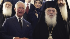 Prince Charles and Archbishop Ieronymos