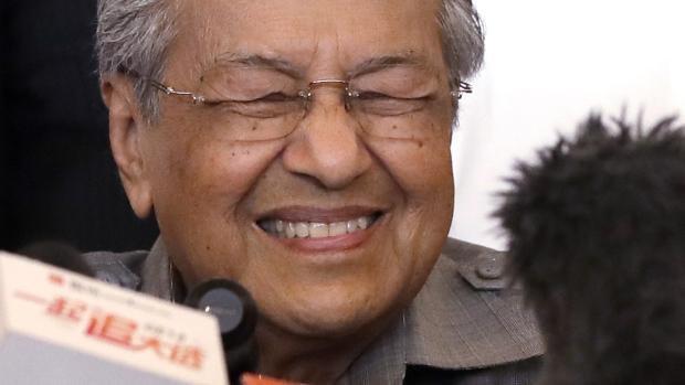 Mahathir Mohamad in Kuala Lumpur, Malaysia