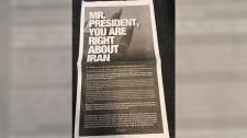 Harper Iran Ad