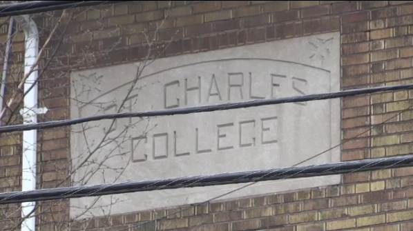 Father Marshall taught at St. Charles College