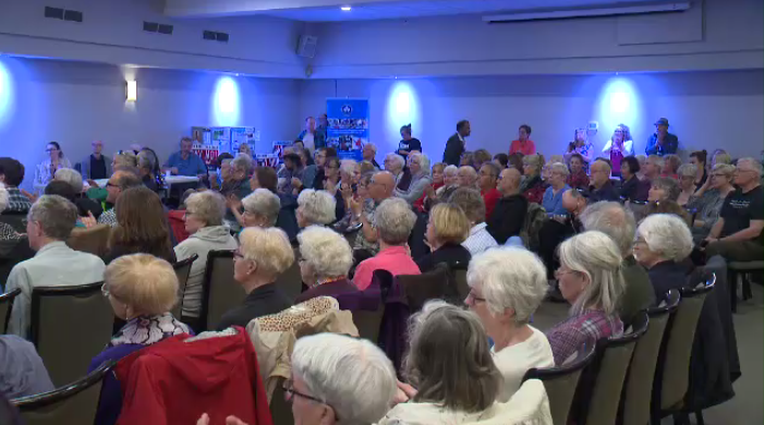 Candidates gathered for debate in Guelph ahead of the provincial election.
