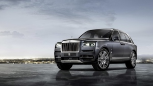 This photo provided by BMW Group shows the Rolls-Royce Cullinan. (BMW Group via AP)