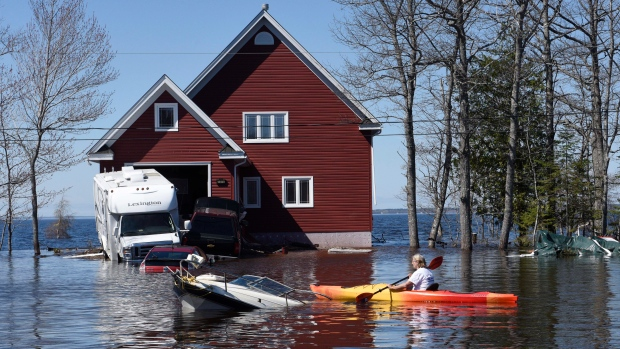 New Brunswick flooding