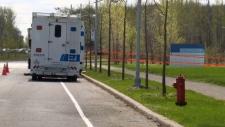 Montreal police, crime lab