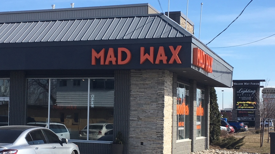 Max Wax, a business specializing in body hair removal. (CTV Windsor)