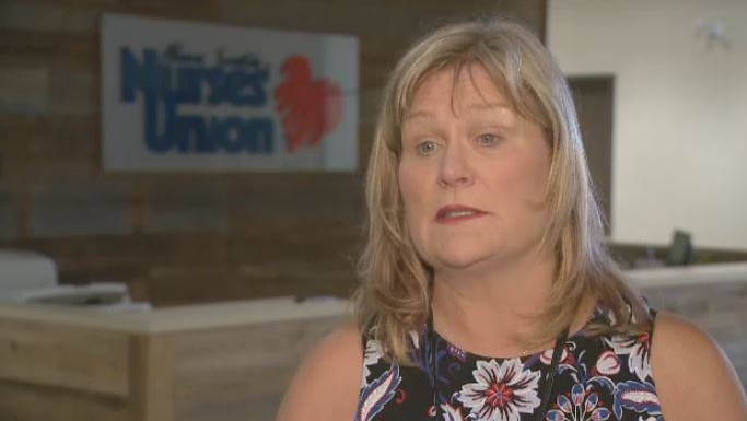 Janet Hazelton, the president of the Nova Scotia Nurses' Union, says they receive reports of violence in the workplace daily.