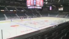 Memorial Cup ice