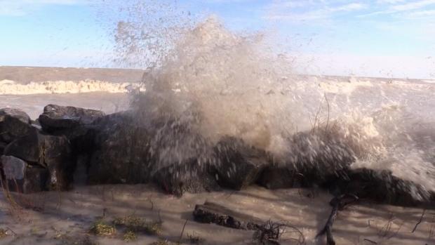 Lake Erie shoreline flood outlook