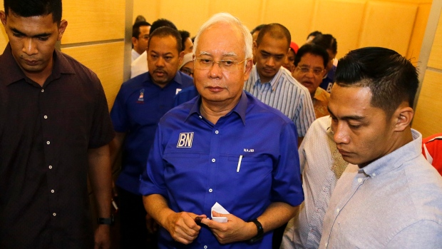 Najib arrives at MACC HQ for questioning on SRC probe