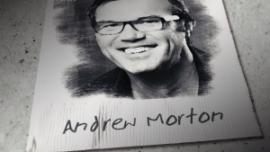 Andrew Morton sketch