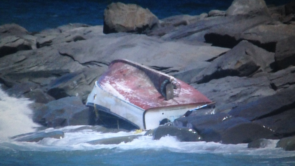 RCMP say two fishermen are dead after a lobster boat capsized on the water off Inverness County early Saturday morning.