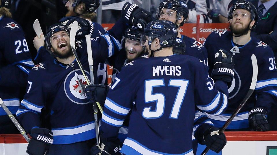 Winnipeg Jets Beat Las Vegas Golden Knights 4 2 Ctv News