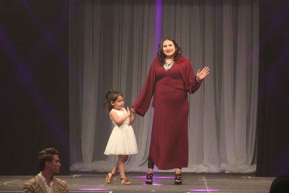 Stephanie Gamble of C.Lysias Designs at Sask. Fashion Week 2018. (KARYN MULCAHY/CTV REGINA)