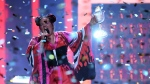 Netta Barzilai performs after winning the Eurovision Song Contest 2018 on May 12, 2018. (© Francisco Leong / AFP)