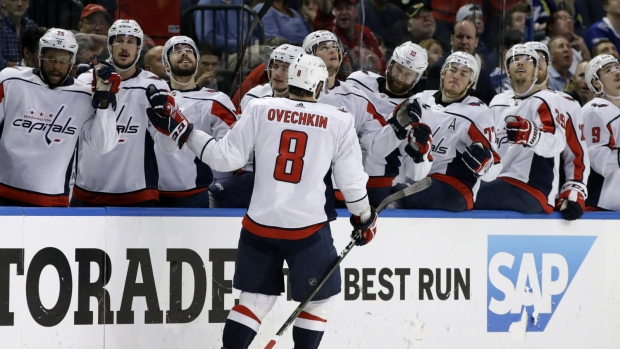 Capitals hammer Lightning for second straight win
