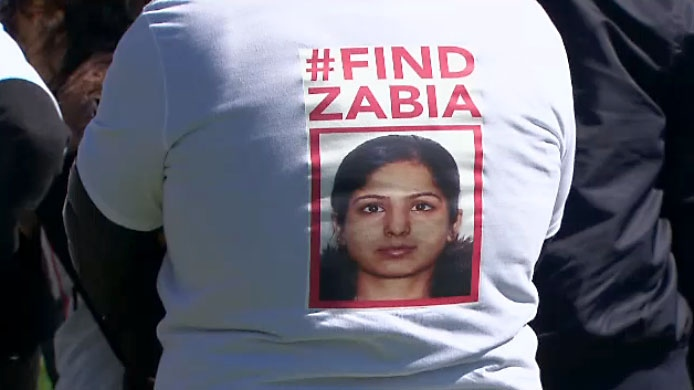 Police are searching for 30-year-old Zabia Afzal, who was last seen in the Ashbridges Bay area on Thursday morning.