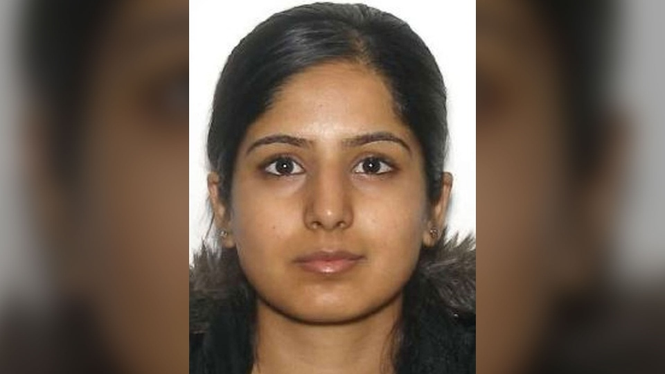 Police are searching for 30-year-old Zabia Afzal, who was last seen in the Ashbridges Bay area on Thursday morning. (York Regional Police handout)