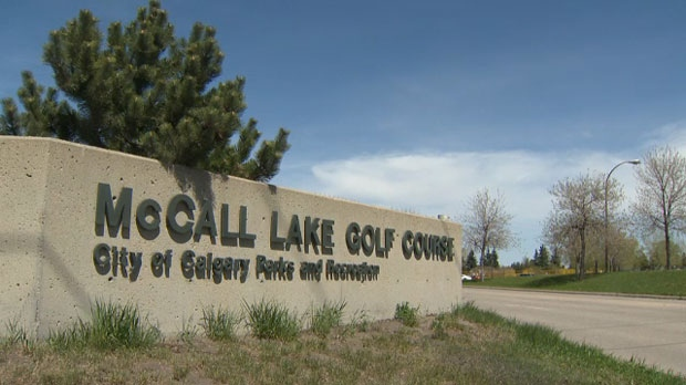 McCall Lake Golf Course sign