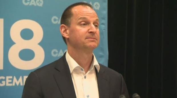 Quebec Finance Minister Eric Girard.