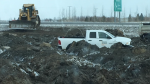 Bypass asphalt dumped near Balgonie