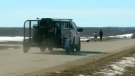 RCMP response to burnt vehicle questioned