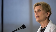 Ontario Liberal leader Kathleen Wynne