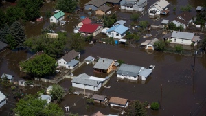 Flooding in Grand Forks, B.C.