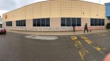 Walmart graffiti