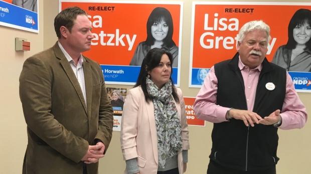 NDP Platform Push