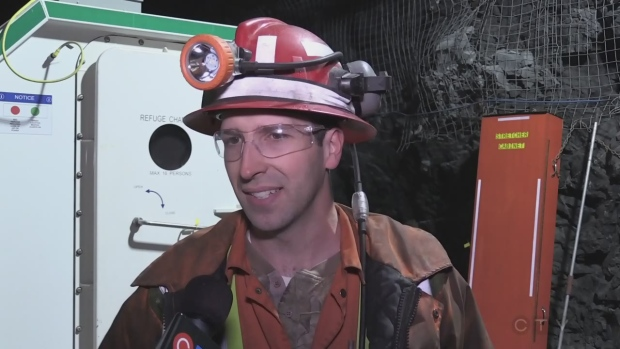 Daniel Guitard Borden Mine Employee