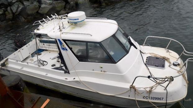 sport fishing boat sinking tofino tsb