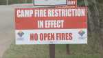 Dry conditions lead to fire ban