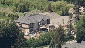 Mansion on Richmond farmland