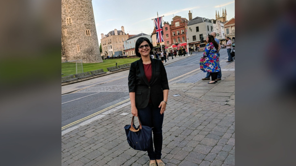 CTV News Senior Web Producer Mary Nersessian reports from Windsor, England, on Tuesday, May 15, 2018.