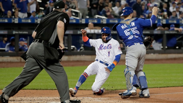 Juan Lagares leads Mets to 12-2 rout of Blue Jays