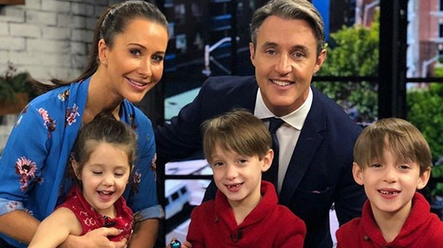 Jessica and Ben Mulroney and their three children, Ivy, Brian and John. (Instagram/Ben Mulroney/@benmulroney)