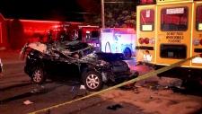 crash in Etobicoke