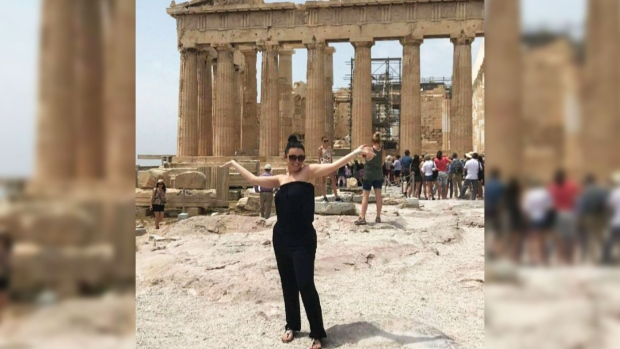 Canadian woman paralyzed by rare illness while visiting Greece