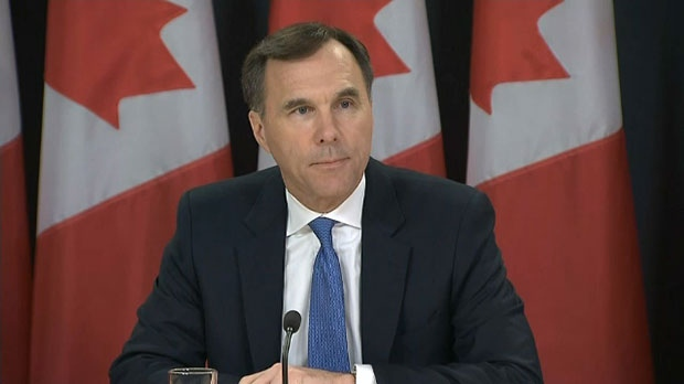 Finance Minister Bill Morneau provides an update on talks with Kinder Morgan from Ottawa on Wednesday, May 16, 2018.