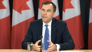 CTV News Channel: Minister Morneau takes questions