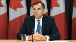 CTV News Channel: Minister Morneau on the project