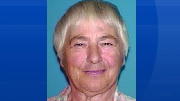 Police say 81-year-old Myrna Burgess has been found safe. (RCMP)