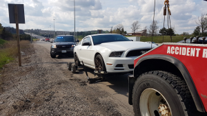 Man charged with stunt driving on Highway 8