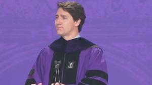 CTV News Channel: PM addresses NYU grads