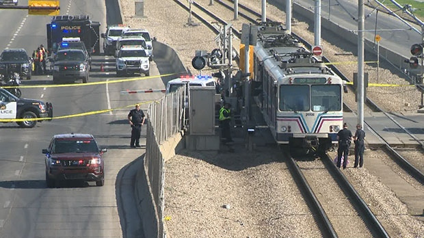 One person was killed after they were hit by a CTrain in the city's northeast and police are now investigating.