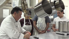 Six Nations chef teaches new students