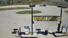 Ghost Station gas-and-dash crash