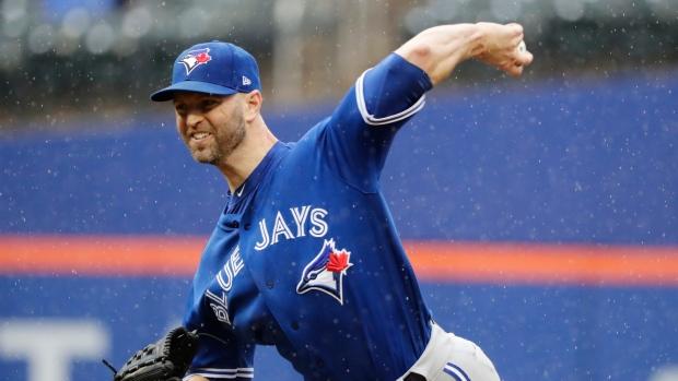 Toronto Blue Jays' J.A. Happ